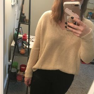 Forever 21 cut out sweater